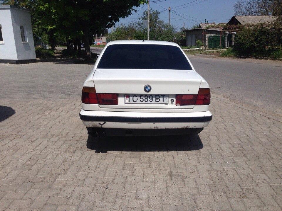 Бмв е34 1992 год. 2.4 турбо дизель.