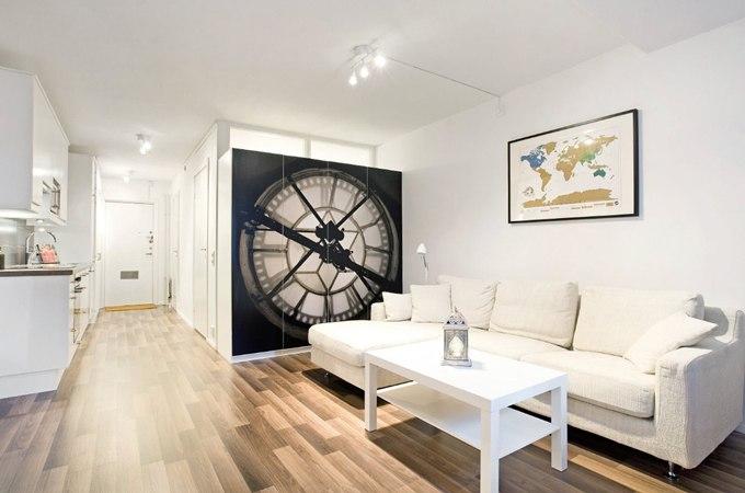 Квартира-студия 35 м с альковом в Стокгольме / Швеция - http://kvartirastudio.