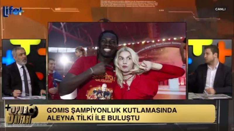 Bafétimbi Gomis Galatasarayda Peri Masalı Yaşıyorum Murat Özarı Uğur Karakullukçu Yorumları