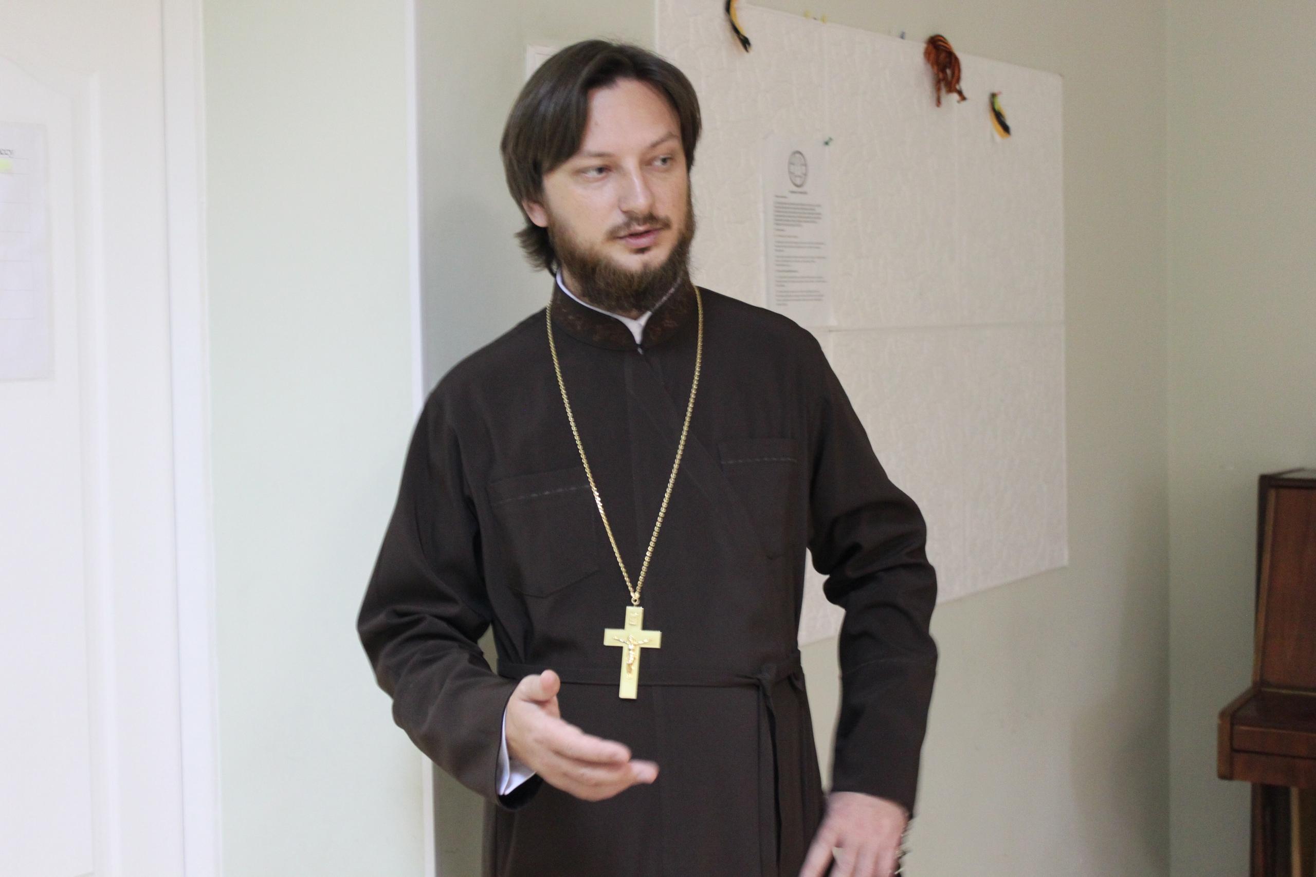 Ректор ЕДС иеромонах Корнилий (Зайцев)