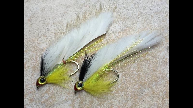 Streamer for Perch and Trout Mylar Tubing Streamer okoniowo/Pstrągowy Fly-Tying