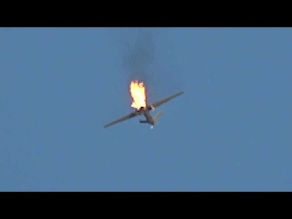 Yemen - Shot Down Spy Drone Of Saudi