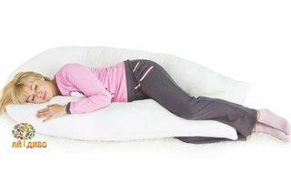 подушка для беременных холлофайбер полистирол