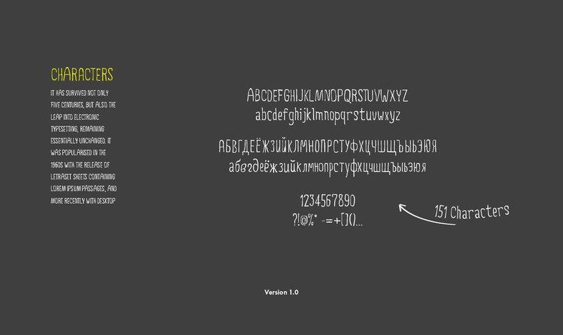 шрифт 5ive