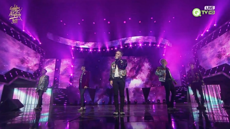 BIGBANG 'LOSER' '맨정신 SOBER ' in 2016 Golden Disc Awards