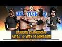 Jersend VS Bobby VS Alex Flash VS Mantis - Hardcore Championship Match