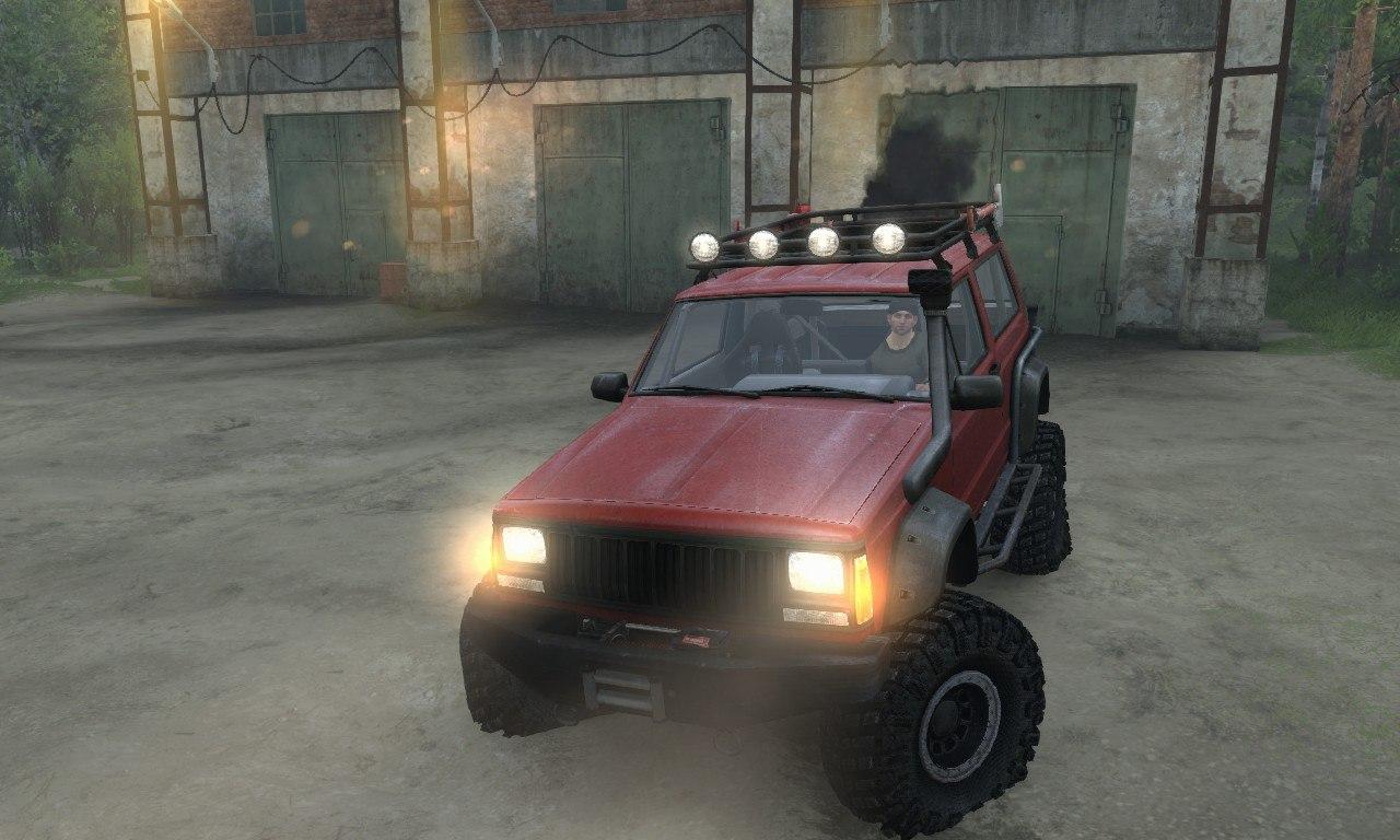 Jeep Cherokee SE 3-door для 03.03.16 для Spintires - Скриншот 2