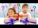 Открываем СЮРПРИЗ БОКСЫ ! SWEET БОКС с неизвестными сладостями Случайный подарок для детей.