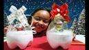 DIY Enfeites de Natal com garrafa PET