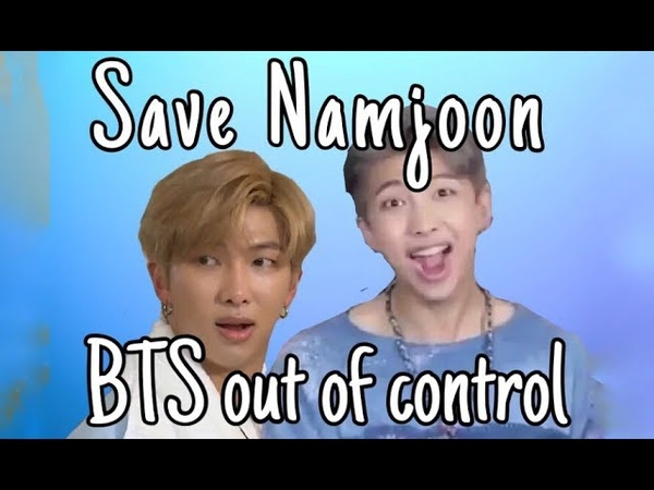 20190214 Namjoon being confused done with BTS | Be a leader, they said. It'll be fun, they said...