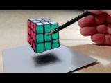 супер  видео  класс  триде 3D Rubik's Cube