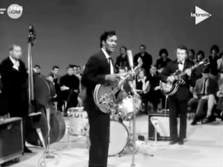 Chuck Berrys 1965 Belgium TV Appearance