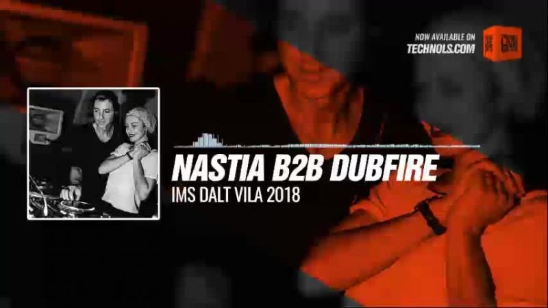 Techno music with Nastia b2b Dubfire - IMS Dalt Vila 2018 Periscope