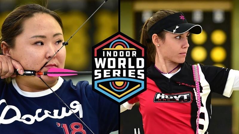 Toja Ellison v Viktoria Balzhanova – compound womens gold final | GT Open 2018