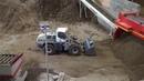 Liebherr 576 with new high dump bucket