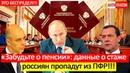 ЖЕСТЬ СТАЖ И ПЕНСИИ РОССИЯН МОГУТ ПРОПАСТЬ ПРОБЛЕМА В ЦИФРЕ