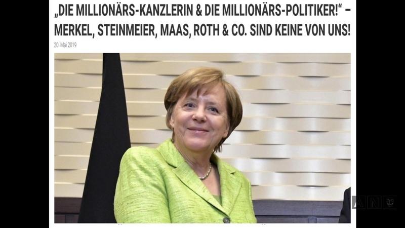 DIE MILLIONÄRS KANZLERIN MERKEL STEINMEIER MAAS ROTH CO SIND KEINE VON UNS