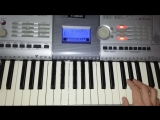 My Game Yamaha PSR 295 Keyboard The Beloved Sweet Harmony Song
