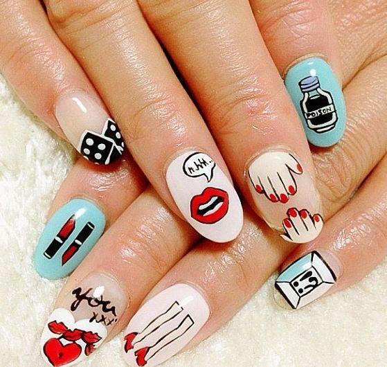 А какой дизайн ногтей предпочитаете вы? И что скажете про этот?