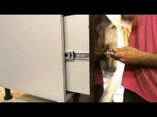 Как установить фасад на ящик. Как собрать кухню.. Сборка кухни.