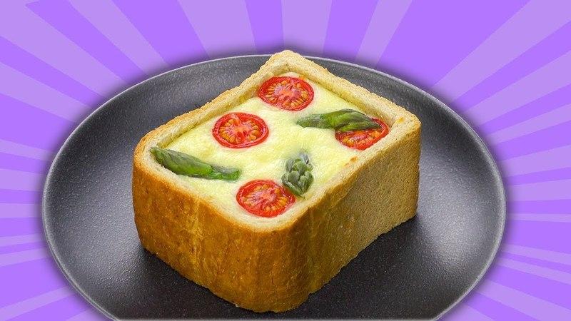 Пицца фондю в хлебе Идеальный рецепт для весеннего ужина смотреть онлайн без регистрации