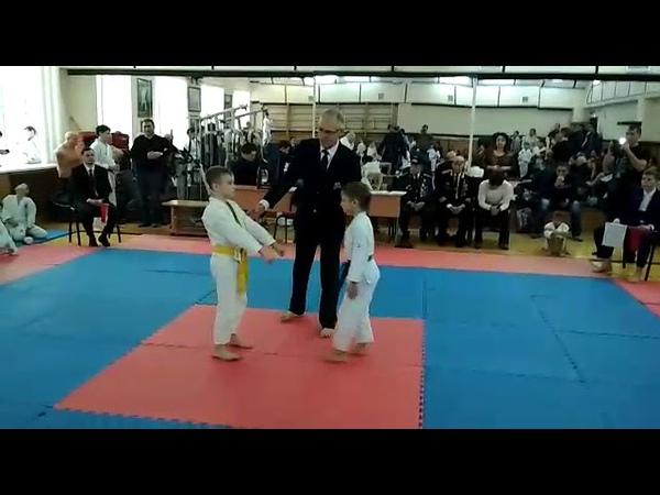 Финал 1 место г Казань Соревнования Каратэ Сётокан Шотокан Кихон Ипон Кумитэ