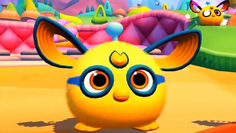 Ферби коннект 20 Furby Connect World Игра про фербиков Выращиваем фербиков Играем с фербиками