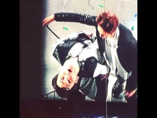140511 Key was about to fall, Onew helped him - SWC lll in Taipei