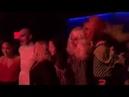 Christina Aguilera with Farrah Moan, Sasha Velour and Aja at NYFW 2018