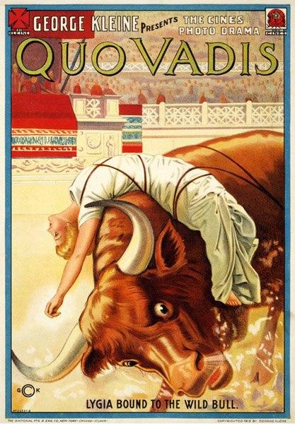 """Афиша Владивосток Драма """"Камо грядеши?"""" (Quo Vadis?, 1912)"""
