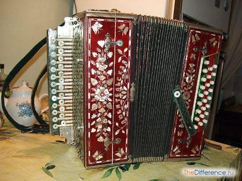 Разница между гармонью и баяном Гармонь и баян настолько популярные музыкальные инструменты, что без них трудно представить народное исполнительское искусство. Какая песня без баяна Какое