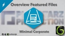 Обзор проекта Featured Files на Audiojungle - Minimal Corporate (1000 SALES) [Playstarz Production]