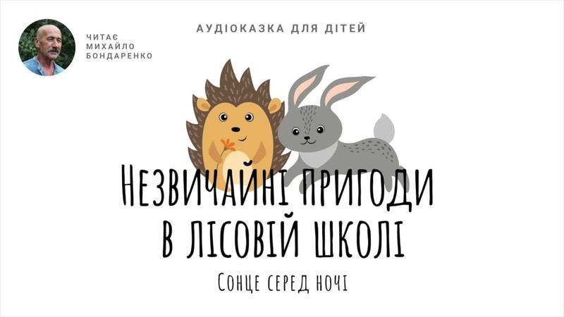 Всеволод Нестайко Незвичайні пригоди в лісовій школі Сонце серед ночі