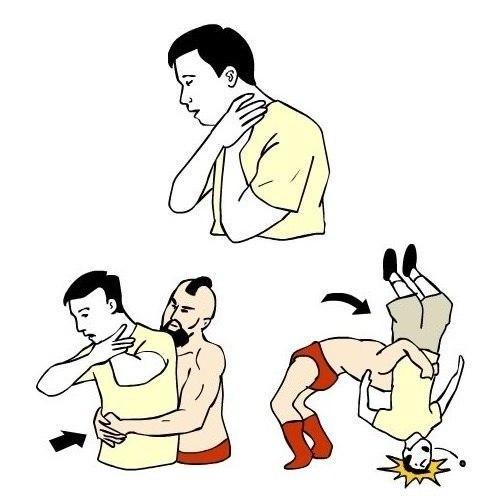 Что нужно делать если человек подавился… (1 фото) - картинка