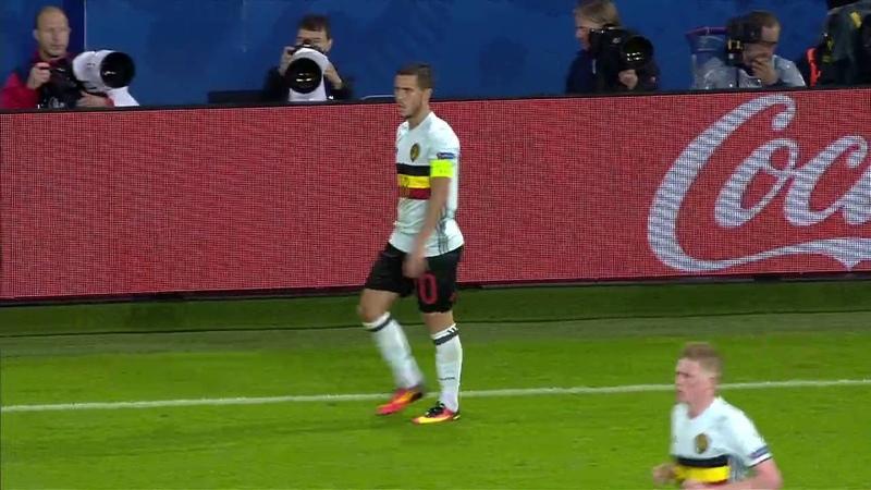Eden Hazard vs Wales EURO 2016 01 07 2016