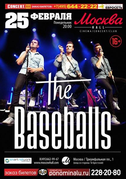 25.02.2013 The Baseballs в Moscowhall!!!