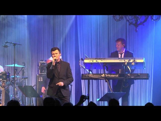 Rick Astley in Concert @ The Retro Festival 2013 Hotel Schweizerhof Luzern
