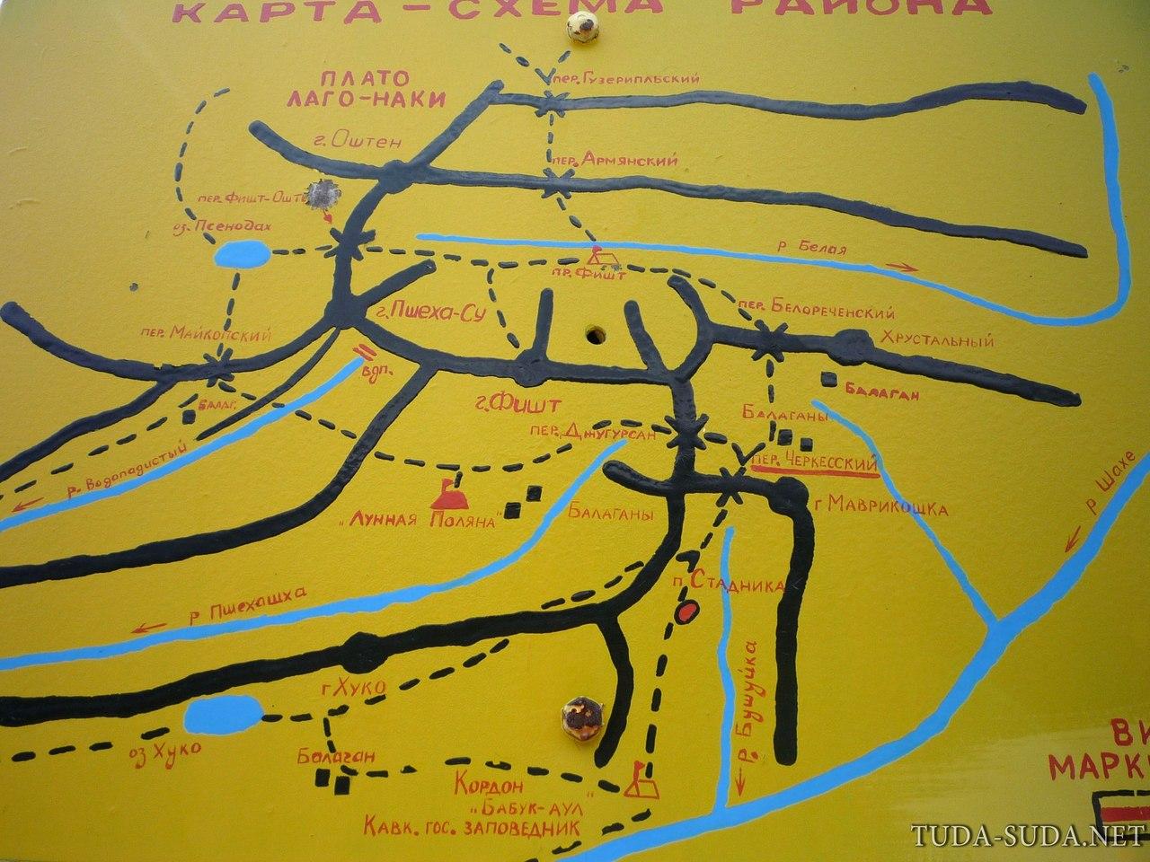 Тридцатка маршрут карта