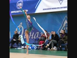 Софья Никеева (тренировка) // Первенство Москвы 2019