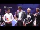 Jesús Navas recibió el premio al mejor deportista en la II Gala del Deporte de Los Palacios
