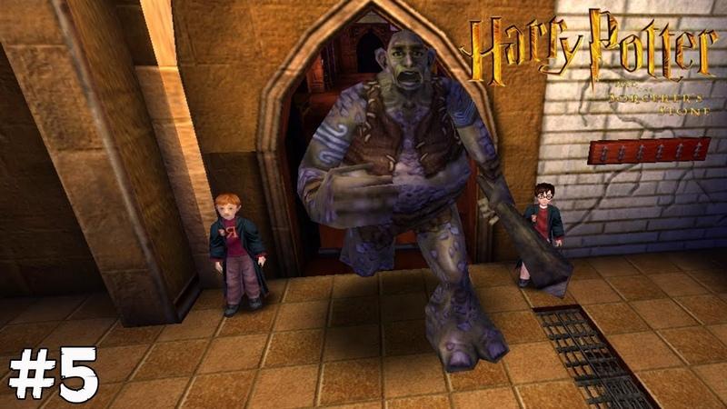 Harry Potter and The Sorcerers Stone (Прохождение) ▪ ГРИБОЧКИ СНЕЙПА ▪ 5