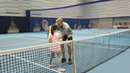 Alice and Niania tennis class