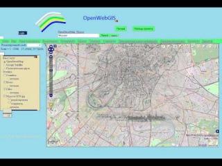 OpenWebGIS: Наложение старинной карты на современную.Новая версия