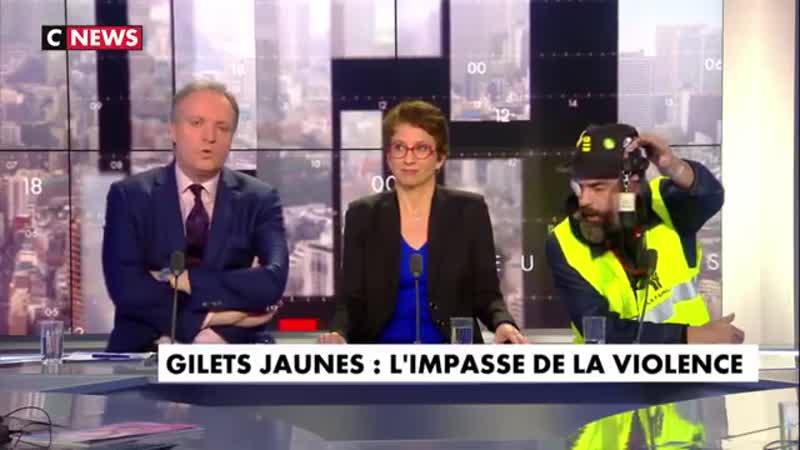 Jérôme Rodrigues, gilet jaune «La violence, elle vient de la part du gouvernement (…) parce que j'ai osé élever la voix j'ai p