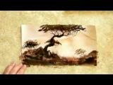 Как научиться рисовать пейзаж акварелью.Художник Александр Жиляев