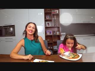 [Viki Show] ТЕЛЕПАТИЯ Пицца Челлендж УГАДАЙ Если Сможешь Twin Telepathy Pizza Challenge /// Вики Шоу