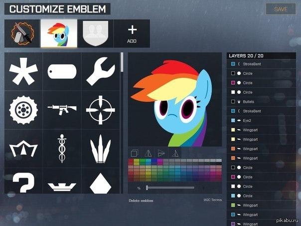 Как сделать себе эмблему в battlefield 4