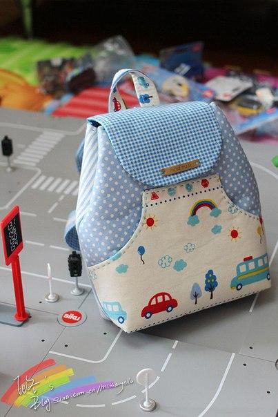 Шьем детские рюкзачки своими руками