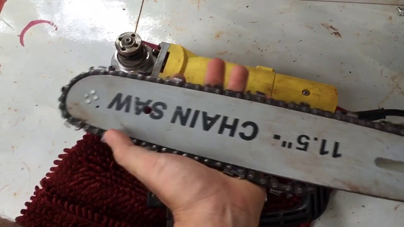 Lưu ý khi sử dụng lưỡi cưa xích gắn máy cắt cầm tay
