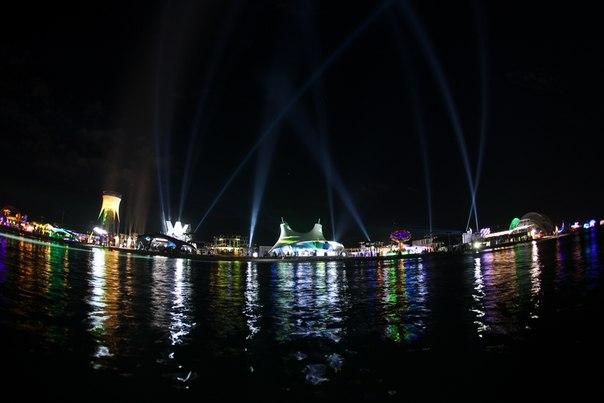 В ночь на 5 августа в селе Поповка Сакского района состоялось открытие фестиваля «Республика Казантип».